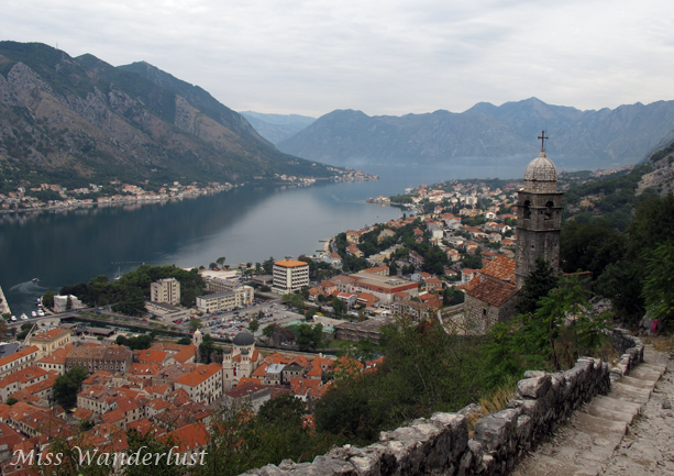 Kotor-fortress-walls