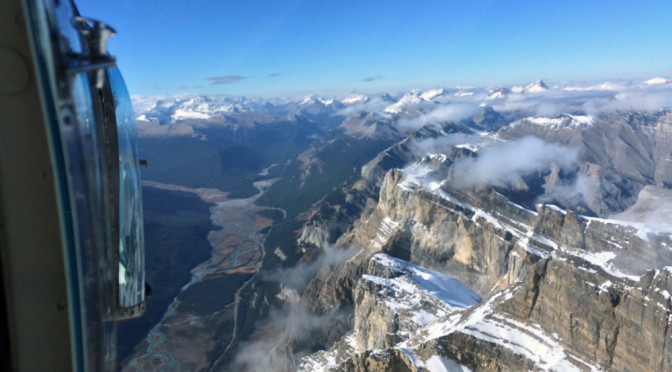 Exploring Jasper: Icefields Parkway and Rocky Mountain helicopter ride